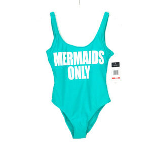 California Waves Mermaids Only One Piece Swimsuit